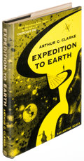 Books:Science Fiction & Fantasy, Arthur C. Clarke. Expedition to Earth. New York: [1953].First edition....
