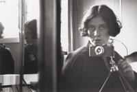 Ilse Bing (German/American, 1899-1998) Self-Portrait, 1931 Gelatin silver, printed in 1989 under the