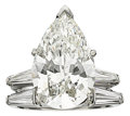 Estate Jewelry:Rings, Diamond, Platinum Rings. ...