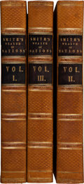 Books:Business & Economics, Adam Smith. An Inquiry into the Nature and Causes of the Wealth of Nations. London: 1822. New Edition. Three octavo ... (Total: 3 Items)