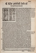 Books:World History, [Shakespearean Source Book]. Edward Hall. Union of the two noble and illustre... [London, 1550]. Lacks title-page an...