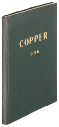 Books:Americana & American History, [D. Houston & Co]. Copper: Copper Mines, ... Statistics, ...Shares and A Reference Book on the leading Copper Propertie...