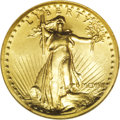 High Relief Double Eagles: , 1907 $20 High Relief, Wire Rim MS63 NGC. With the exception of the multi-million dollar Ultra High Relief double eagles, th...