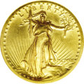 Proof High Relief Double Eagles: , 1907 $20 High Relief PR64 NGC. Although there is continuing debate regarding the differences between proof and business str...