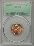 Lincoln Cents, 1971-S 1C MS67 Red PCGS....