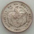 Colombia, Colombia: A Trio of 19th Century silver Pesos,... (Total: 3 coins)