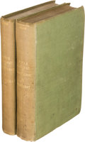 Books:Literature Pre-1900, George Bernard Shaw. Plays: Pleasant and Unpleasant. London:1898. First edition.... (Total: 2 )
