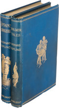Books:Literature Pre-1900, Rudyard Kipling. Soldier Tales [And] CaptainsCourageous. London: Macmillan, 1896-1897. First editions. ...