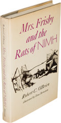Books:Children's Books, Robert C. O'Brien. Mrs. Frisby and the Rats of NIMH. New York: Atheneum, 1971. First edition....