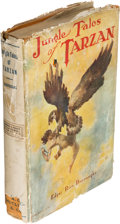 Books:Science Fiction & Fantasy, Edgar Rice Burroughs. Jungle Tales of Tarzan. Chicago: 1919. First edition....