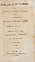 Books:Americana & American History, Josiah Gregg. Commerce of the Prairies: or the Journal ofa Santa Fé Trader During Eight Expeditions Across ... (Total: 2Items)