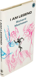 Books:Horror & Supernatural, Richard Matheson. I Am Legend. New York: [1970]. Firsthardcover edition....