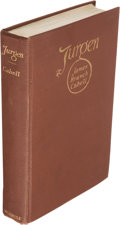 Books:Science Fiction & Fantasy, James Branch Cabell. Jurgen. A Comedy of Justice. New York: 1919. First edition....