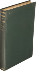 Books:Americana & American History, Alfred James Mokler. Transition of the West. Chicago: R. R.Donnelley & Sons, 1927. First edition....