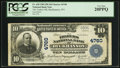National Bank Notes:West Virginia, Buckhannon, WV - $10 1902 Plain Back Fr. 628 The Traders NB Ch. #4760. ...