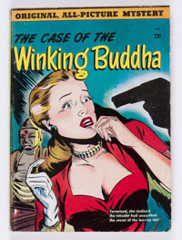 The Case of the Winking Buddha #nn (St. John, 1950) Condition: VG-