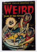 Golden Age (1938-1955):Horror, Weird Tales of the Future #6 (Aragon, 1953) Condition: FR....