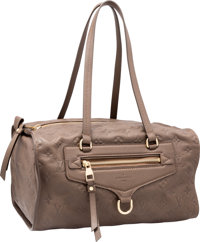 """Louis Vuitton Taupe Empreinte Leather Lumineuse Bag Pristine Condition 13"""" Width x 7"""" Height x 8"""""""