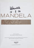 Books:World History, Nelson Mandela. MANDELA. The Authorized Portrait. KansasCity MO: 2006. First Edition. Signed and dated by Nelso...