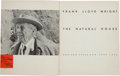 Books:Art & Architecture, Frank Lloyd Wright. The Natural House. New York: 1954. FirstEdition. Inscribed....