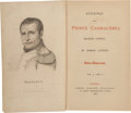 Books:Fine Press & Book Arts, [Extra-Illustrated]. [Napoleon Bonaparte]. Baron Langon.Evenings with Prince Cambacérès. London: Colburn, 1837.Fir... (Total: 4 Items)