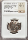 Ancients:Greek, Ancients: MACEDONIAN KINGDOM. Alexander III the Great (336-323 BC).AR tetradrachm (17.15 gm)....
