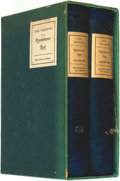 Books:Fiction, Carl Sandburg. SIGNED/LIMITED. Remembrance Rock. New York:Harcourt, Brace and Company, [1948].... (Total: 2 Items)