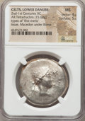 Ancients:Celtic, Ancients: EASTERN CELTS. Imitating Roman Protectorate (after 167BC). AR tetradrachm (15.60 gm)....