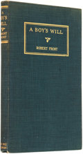 Books:Fiction, Robert Frost. A Boy's Will. New York: Henry Holt andCompany, 1915....