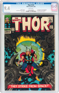Silver Age (1956-1969):Superhero, Thor #131 (Marvel, 1966) CGC NM 9.4 White pages....