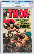 Silver Age (1956-1969):Superhero, Thor #128 (Marvel, 1966) CGC NM+ 9.6 White pages....