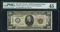 Small Size:World War II Emergency Notes, Fr. 2304 $20 1934 Mule Hawaii Federal Reserve Note. PMG Choice Extremely Fine 45.. ...