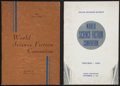 Books:Science Fiction & Fantasy, Pair of World Science Fiction Convention Official SouvenirJournals. New York and Chicago: 1939 and 1940.... (Total: 2 Items)