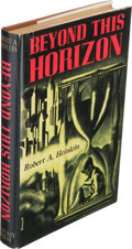 Books:Science Fiction & Fantasy, Robert Heinlein. Beyond This Horizon. Reading, PA: 1948. First edition, limited to 500 copies and inscribed on the l...