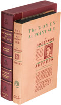 Books:Literature 1900-up, Robinson Jeffers. The Women at Point Sur. New York: 1927. Firstedition, inscribed....