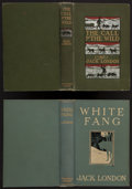 Books:Literature 1900-up, Jack London. Pair of Jack London First Edition Books. New York:1903-1906. Includes: The Call of the Wild [and:] White...(Total: 2 Items)