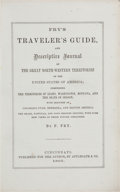 Books:Americana & American History, F. Fry. Fry's Traveler's Guide, and Descriptive Journal of TheGreat North-Western Territories of the United States of A...