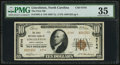 Lincolnton, NC - $10 1929 Ty. 2 The First NB Ch. # 6744