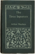 Books:Science Fiction & Fantasy, Arthur Machen. The Three Imposters, or The Transmutations.London: John Lane, 1895....