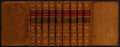 Books:Fine Bindings & Library Sets, Alexander Pope. The Works... London: Knapton, 1752. Completein nine octavo volumes. Contemporary binding, skillfull... (Total:9 Items)