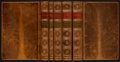 Books:Art & Architecture, John Ruskin. Modern Painters. London: Smith, Elder, 1851-1860. Mixed editions, (volumes III - V first editions). Fiv... (Total: 5 Items)