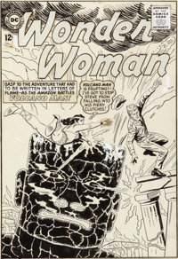 Ross Andru and Mike Esposito Wonder Woman #154 Cover Original Art (DC, 1965)