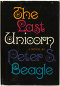 Books:Science Fiction & Fantasy, Peter S. Beagle. The Last Unicorn. New York: The VikingPress, [1968]....