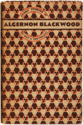 Books:Horror & Supernatural, Algernon Blackwood. Short Stories of To-day and Yesterday.London, Bombay, Sydney: George G. Harrap & Co. Ltd., ...