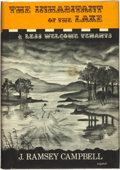 Books:Horror & Supernatural, J. Ramsey Campbell. The Inhabitant of the Lake and Less WelcomeTenants. Sauk City, Wisconsin: Arkham House, 196...
