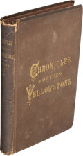 Books:Americana & American History, E. S. Topping. The Chronicles of the Yellowstone. St. Paul:Pioneer Press Company, 1883....