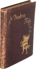 Books:Americana & American History, Carl E. Schmidt. A Western Trip. [Detroit: Herold Press,circa 1904, for private circulation by the author]....