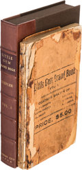 Books:Reference & Bibliography, C.V. Shepler. Little Gem Brand Book. Vol. I. KansasCity: 1900....