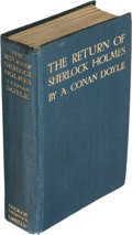 Books:Mystery & Detective Fiction, Arthur Conan Doyle. The Return of Sherlock Holmes. London:George Newnes, Ltd, 1905....