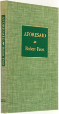 Books:Fiction, Robert Frost. SIGNED/LIMITED. Aforesaid. New York: HenryHolt and Company, [1954]. ...